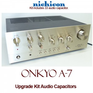 Onkyo A-7 Upgrade Kit Audio Capacitors
