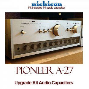 Pioneer A-27 Upgrade Kit Audio Capacitors
