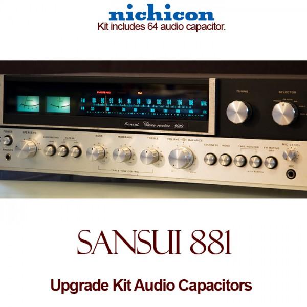 Sansui 881 Upgrade Kit Audio Capacitors