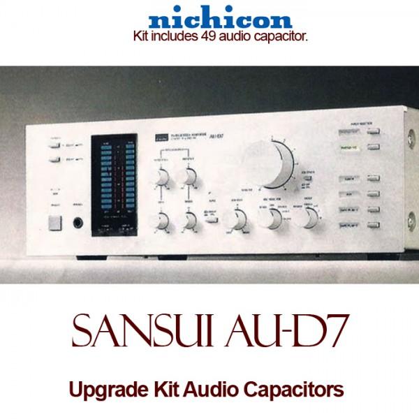 Sansui AU-D7 Upgrade Kit Audio Capacitors