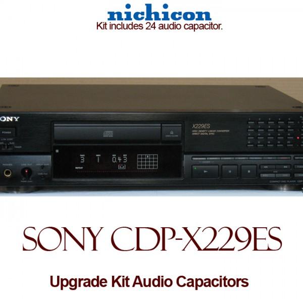 Sony CDP-X229ES Upgrade Kit Audio Capacitors