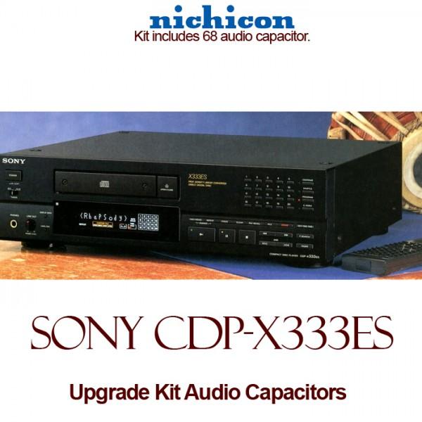 Sony CDP-X333ES Upgrade Kit Audio Capacitors