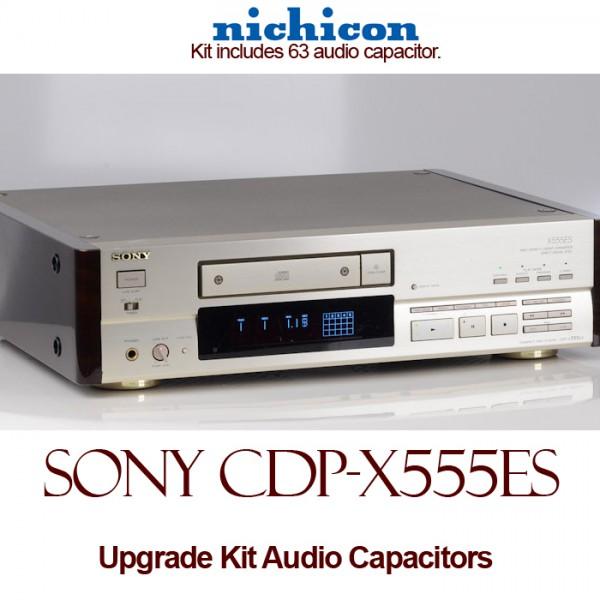 Sony CDP-X555ES Upgrade Kit Audio Capacitors