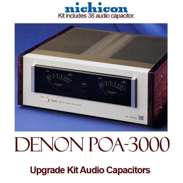 Denon POA-3000 Upgrade Kit Audio Capacitors