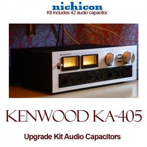 Kenwood KA-405 Upgrade Kit Audio Capacitors