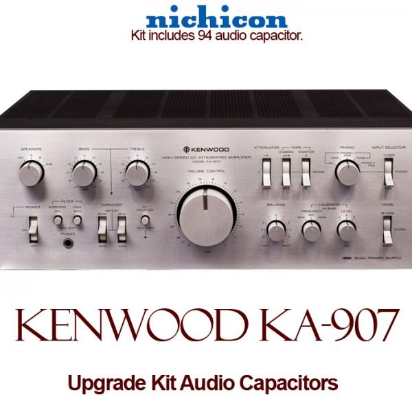 Kenwood KA-907 Upgrade Kit Audio Capacitors