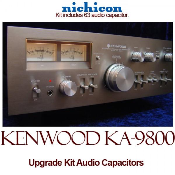 Kenwood KA-9800 Upgrade Kit Audio Capacitors