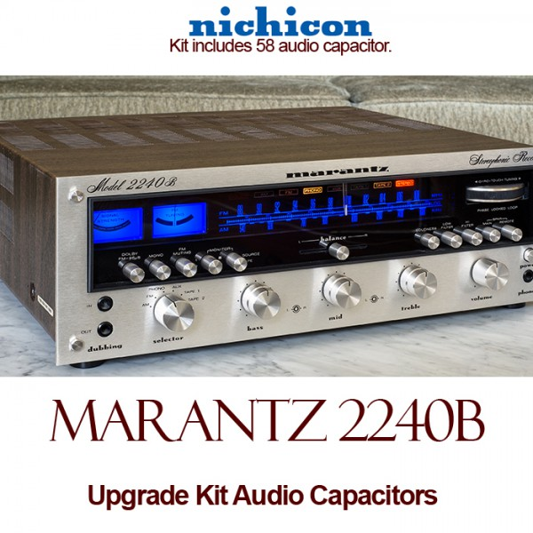 Marantz 2240B Upgrade Kit Audio Capacitors