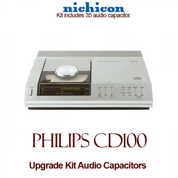 Philips CD100 Upgrade Kit Audio Capacitors