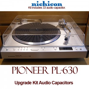 Pioneer PL-630 Upgrade Kit Audio Capacitors