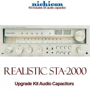 Realistic STA-2000 Upgrade Kit Audio Capacitors