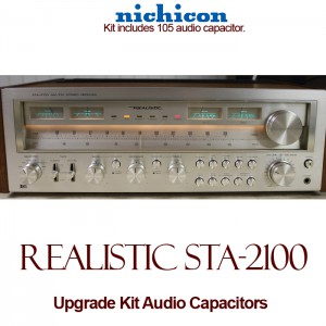 Realistic STA-2100 Upgrade Kit Audio Capacitors