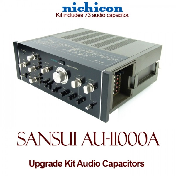 Sansui AU-11000A Upgrade Kit Audio Capacitors
