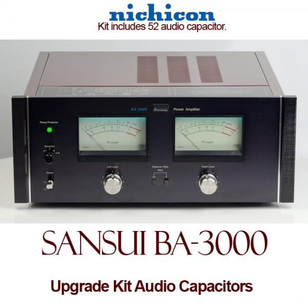 Sansui BA-3000 Upgrade Kit Audio Capacitors