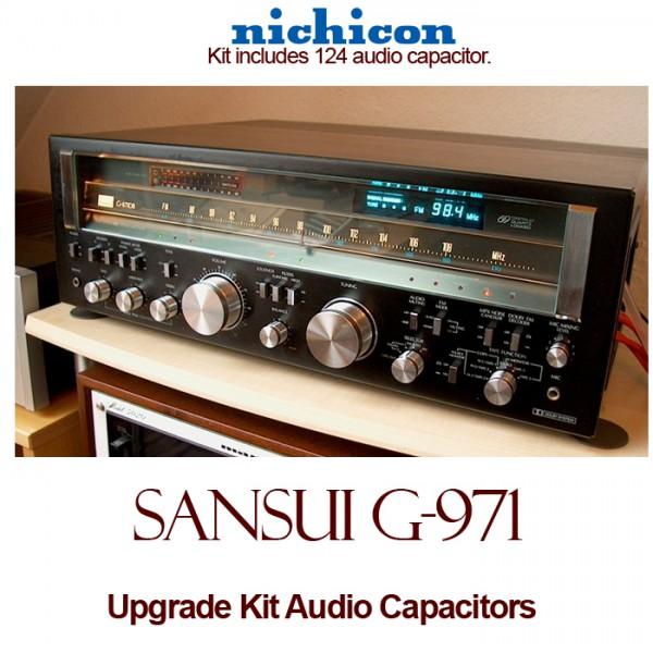 Sansui G-971 Upgrade Kit Audio Capacitors