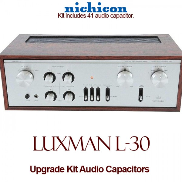 Luxman L-30 Upgrade Kit Audio Capacitors