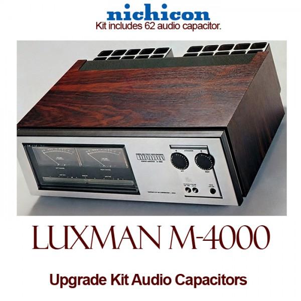 Luxman M-4000 Upgrade Kit Audio Capacitors