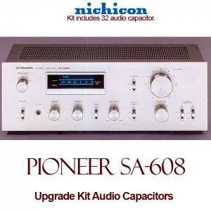 Pioneer SA-608 Upgrade Kit Audio Capacitors