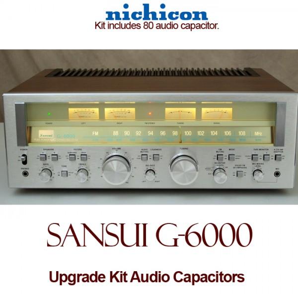 Sansui G-6000 Upgrade Kit Audio Capacitors