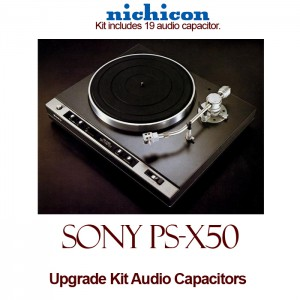 Sony PS-X50 Upgrade Kit Audio Capacitors