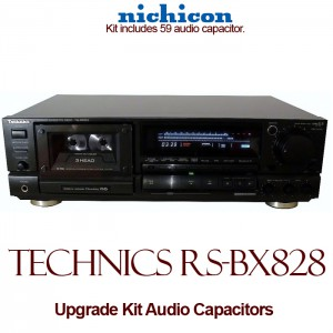 Technics RS-BX828 Upgrade Kit Audio Capacitors