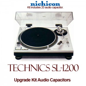 Technics SL-1200 Upgrade Kit Audio Capacitors