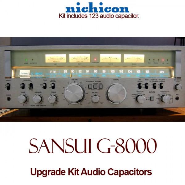 Sansui G-8000 Upgrade Kit Audio Capacitors