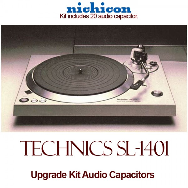 Technics SL-1401 Upgrade Kit Audio Capacitors