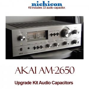 Akai AM-2650 Upgrade Kit Audio Capacitors