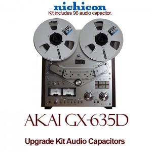 Akai GX-635D Upgrade Kit Audio Capacitors