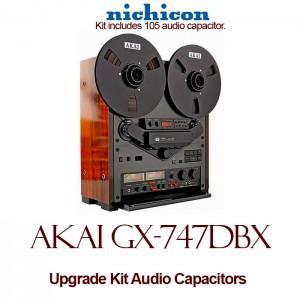 Akai GX-747DBX Upgrade Kit Audio Capacitors