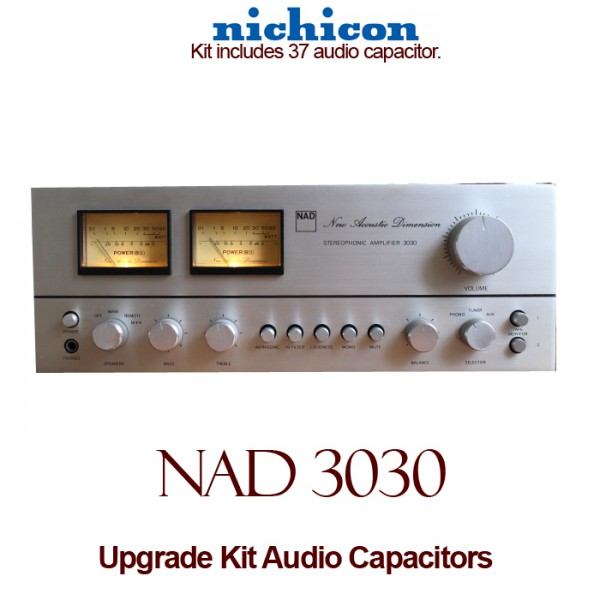NAD 3030 Upgrade Kit Audio Capacitors