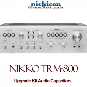 Nikko TRM-800 Upgrade Kit Audio Capacitors