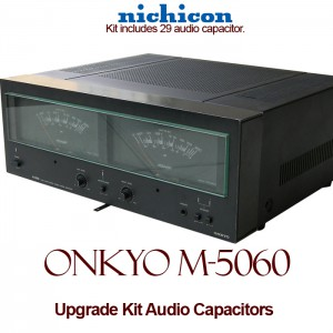 Onkyo M-5060 Upgrade Kit Audio Capacitors