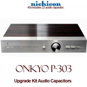 Onkyo P-303 Upgrade Kit Audio Capacitors