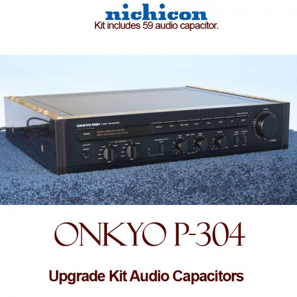 Onkyo P-304 Upgrade Kit Audio Capacitors