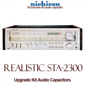 Realistic STA-2300 Upgrade Kit Audio Capacitors