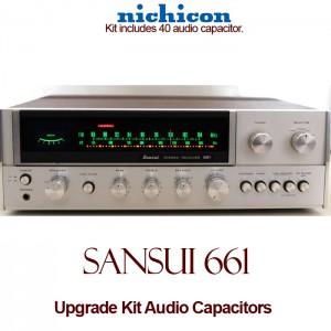 Sansui 661 Upgrade Kit Audio Capacitors