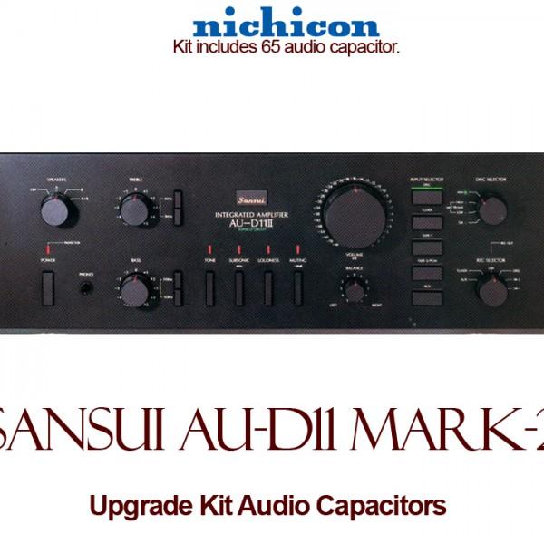 Sansui AU-D11 Mark-2 Upgrade Kit Audio Capacitors
