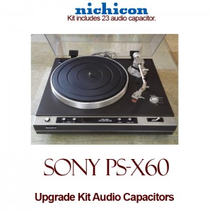 Sony PS-X60 Upgrade Kit Audio Capacitors