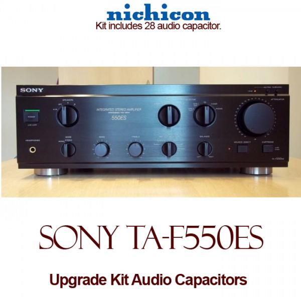 Sony TA-F550ES Upgrade Kit Audio Capacitors