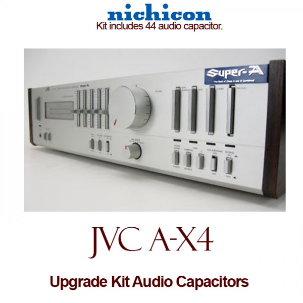 JVC A-X4 Upgrade Kit Audio Capacitors