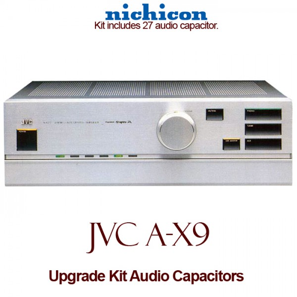 JVC A-X9 Upgrade Kit Audio Capacitors