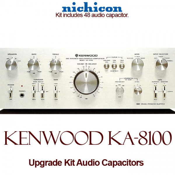 Kenwood KA-8100 Upgrade Kit Audio Capacitors
