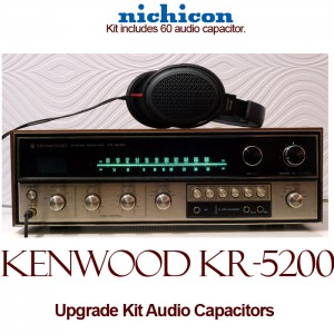 Kenwood KR-5200 Upgrade Kit Audio Capacitors