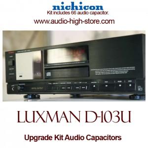 Luxman D-103U Upgrade Kit Audio Capacitors