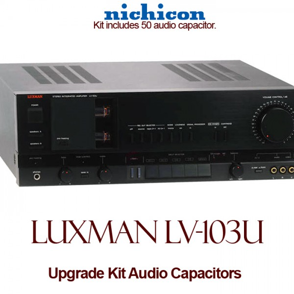 Luxman LV-103U Upgrade Kit Audio Capacitors