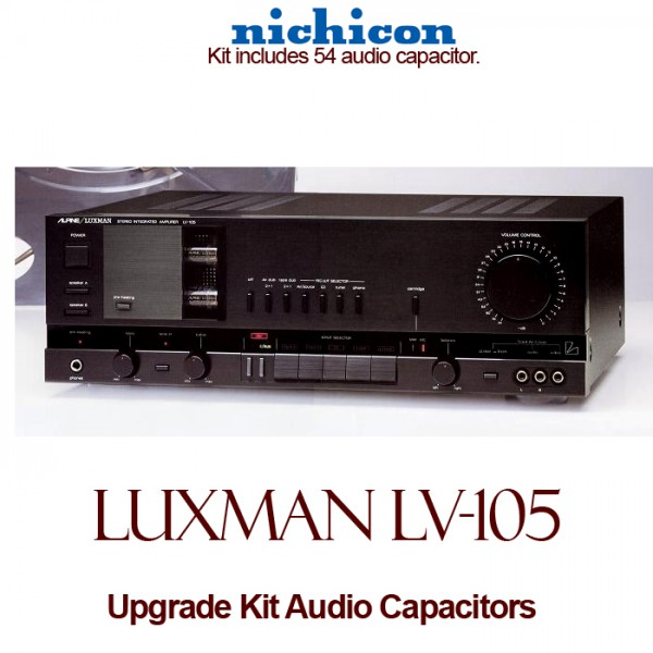 Luxman LV-105 Upgrade Kit Audio Capacitors