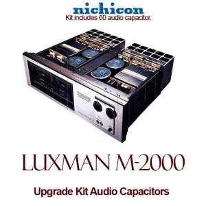 Luxman M-2000 Upgrade Kit Audio Capacitors