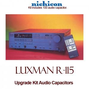 Luxman R-115 Upgrade Kit Audio Capacitors